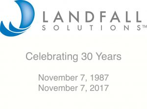 LANDFALL Solutions 30 Years